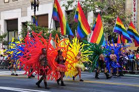 Parade in San Francisco